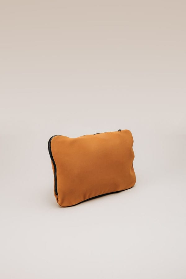 Honey Bag Bee&Smart Chelsea - Camel and green Neoprene foldable bag