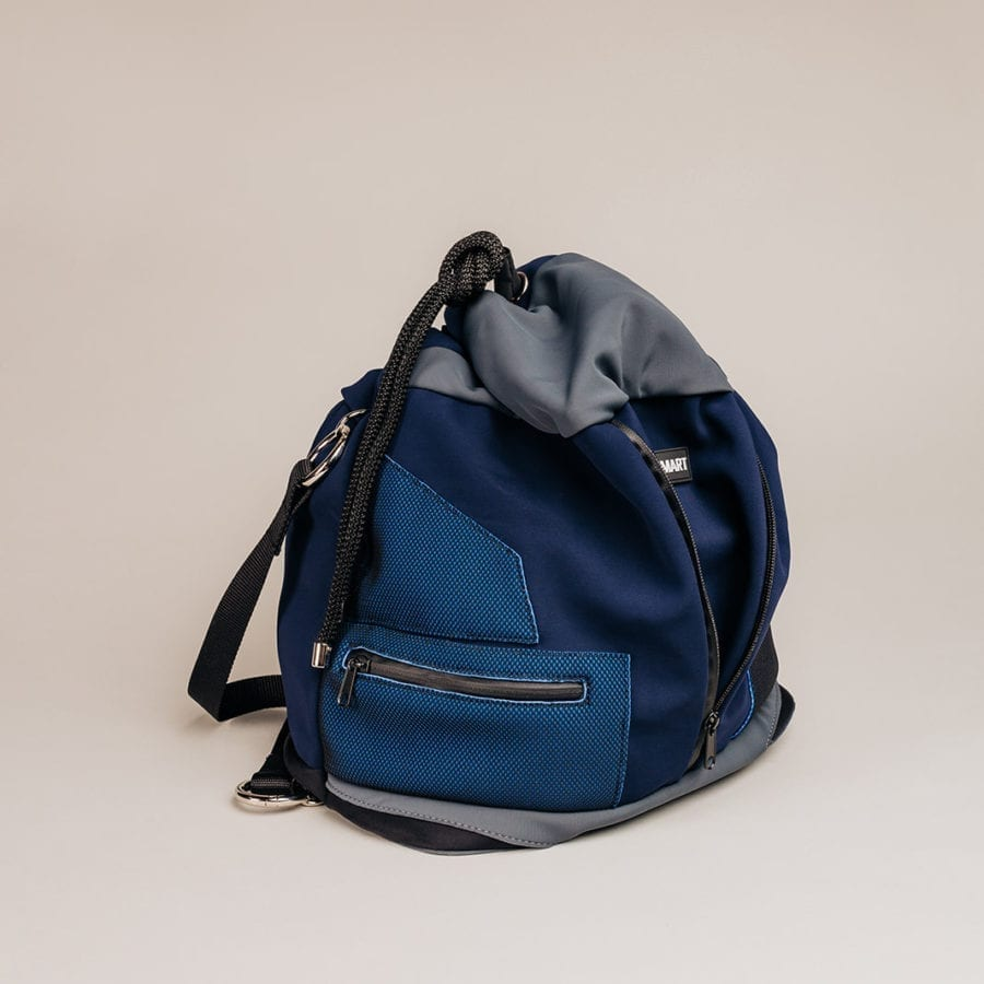 Honey Bag Bee&Smart Bucket Piccadilly - Black Neoprene foldable bag